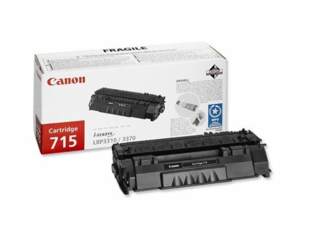 Incarcare cartuse CANON Black  CRG 715 H - Pret | Preturi Incarcare cartuse CANON Black  CRG 715 H