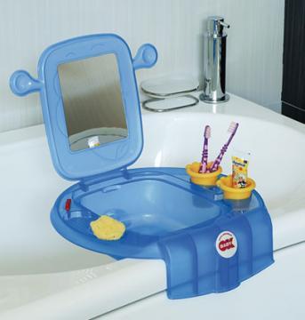 Suport cu oglinda pentru jucarii si accesorii baie Space - OK Baby - Pret | Preturi Suport cu oglinda pentru jucarii si accesorii baie Space - OK Baby