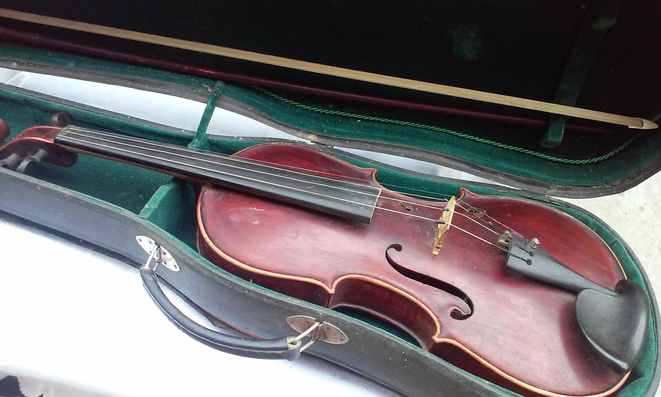 Vioara Antonius Stradivarius Cremonensis 1727 - Pret | Preturi Vioara Antonius Stradivarius Cremonensis 1727