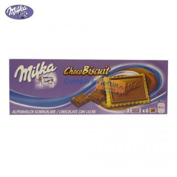 Ciocolata Milka Choco Biscuit 150 g - Pret | Preturi Ciocolata Milka Choco Biscuit 150 g