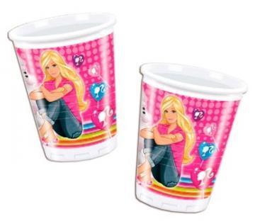 Barbie Cute Pets - Pahare Plastic, 200 ml (10 buc.) - Pret | Preturi Barbie Cute Pets - Pahare Plastic, 200 ml (10 buc.)