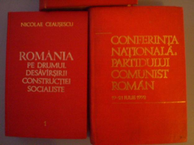 nicolae ceausescu,congres,conferinta nationala,1956,1968,1972 - Pret | Preturi nicolae ceausescu,congres,conferinta nationala,1956,1968,1972
