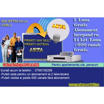 Instalatii satelit Focus pentru programe romanesti - Pret   Preturi Instalatii satelit Focus pentru programe romanesti
