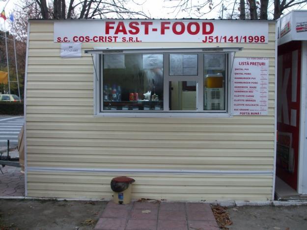 rulota tip fast-food - Pret | Preturi rulota tip fast-food