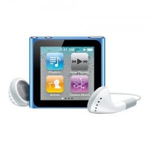 Apple iPod Nano 6th Generation 8GB Blue - mc689qb/a - Pret | Preturi Apple iPod Nano 6th Generation 8GB Blue - mc689qb/a