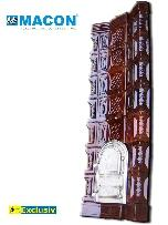Soba de teracota MACON, model T, culoare maro - Pret | Preturi Soba de teracota MACON, model T, culoare maro