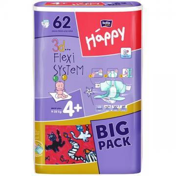 Happy Big Pack Maxi Plus 62 - Pret | Preturi Happy Big Pack Maxi Plus 62
