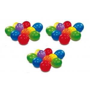 Set 100 baloane rotunde multicolore diverse culori - Pret | Preturi Set 100 baloane rotunde multicolore diverse culori