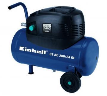 Compresoare - Einhell BT-AC 200-24 OF 8 bari 3550 rpm 176 lpmin - Pret | Preturi Compresoare - Einhell BT-AC 200-24 OF 8 bari 3550 rpm 176 lpmin