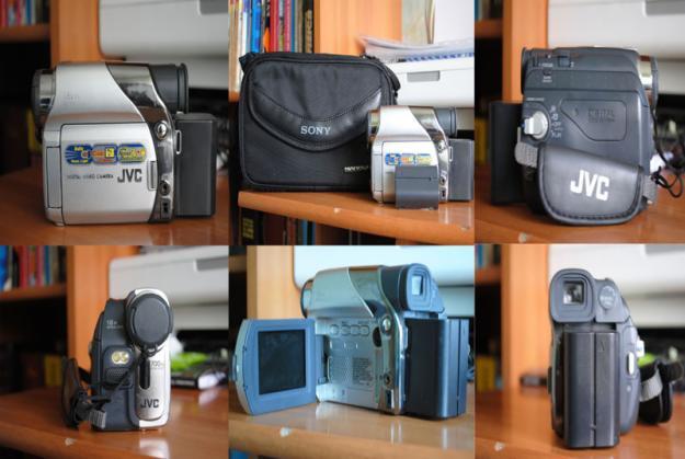 Vand camera JVC GR-D225E plus placa firewire - Pret | Preturi Vand camera JVC GR-D225E plus placa firewire