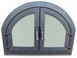 Usa BARBEQUE cu geam 560x420 mm - Pret | Preturi Usa BARBEQUE cu geam 560x420 mm