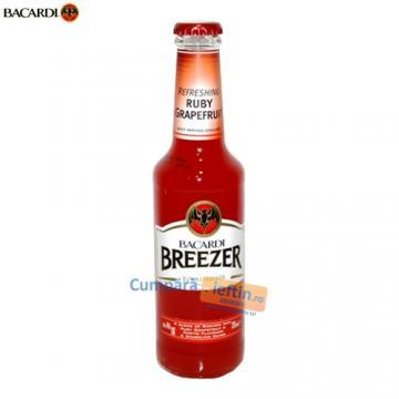 Bacardi Breezer 5% Ruby Grapefruit 275 ml - Pret | Preturi Bacardi Breezer 5% Ruby Grapefruit 275 ml
