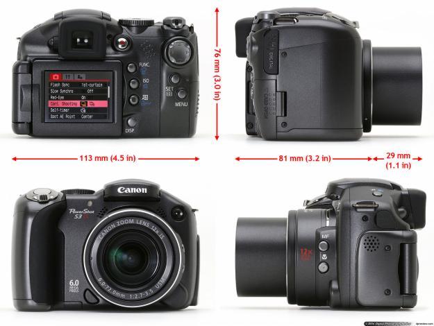 Canon Power Shot S3 IS + GEANTA ORIGINALA CULLMANN + ACUMULATORI +  INCARCATOR ACUMULATORI - Pret | Preturi Canon Power Shot S3 IS + GEANTA ORIGINALA CULLMANN + ACUMULATORI +  INCARCATOR ACUMULATORI