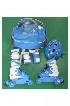 Role pentru copii TRISKATE Set Albastru 27-30 - Pret | Preturi Role pentru copii TRISKATE Set Albastru 27-30