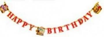 Disney Pirates - Banner Litere Decupate Happy Birthday - Pret | Preturi Disney Pirates - Banner Litere Decupate Happy Birthday