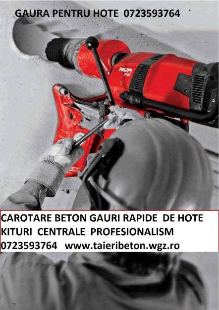 Perforari beton armat 0723593764 - Pret | Preturi Perforari beton armat 0723593764