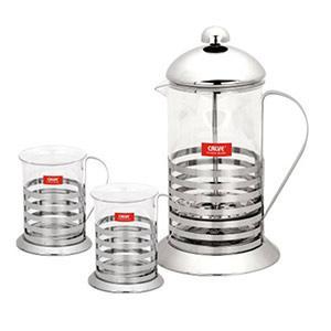 Set cafea 3 piese - Calve - Pret | Preturi Set cafea 3 piese - Calve