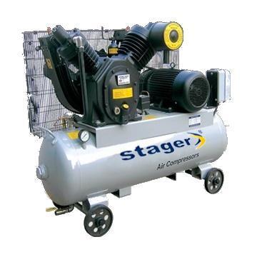 Compresoare - Stager 07V V-0.60/10 Actionare curea Butelie 190L - Pret | Preturi Compresoare - Stager 07V V-0.60/10 Actionare curea Butelie 190L