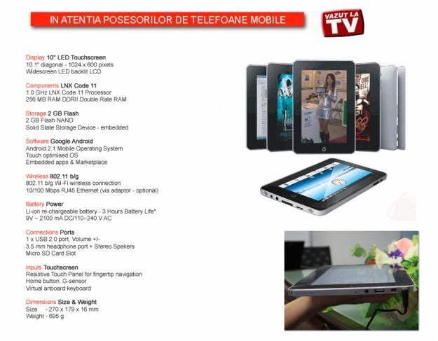 Tableta PC 10,2 - Pret | Preturi Tableta PC 10,2