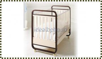 Baby Expert Italia - Patut ZEROCINQUE wenge - Pret | Preturi Baby Expert Italia - Patut ZEROCINQUE wenge