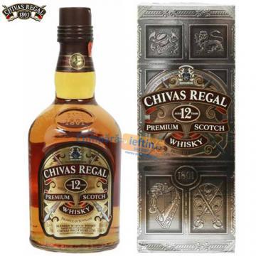 Whisky Chivas Regal 12 ani cutie metal 0.7 L - Pret | Preturi Whisky Chivas Regal 12 ani cutie metal 0.7 L