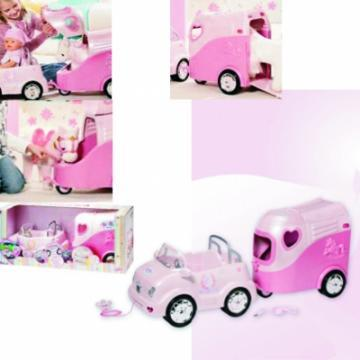 Zapf Creation - BABY BORN - Offroader with horse trailer - Pret | Preturi Zapf Creation - BABY BORN - Offroader with horse trailer