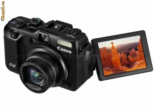 CANON PowerShot G12 Nou Sigilat 350 Euro - Pret | Preturi CANON PowerShot G12 Nou Sigilat 350 Euro