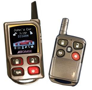 Alarma auto AutoPage RS-1000 OLED - Pret | Preturi Alarma auto AutoPage RS-1000 OLED