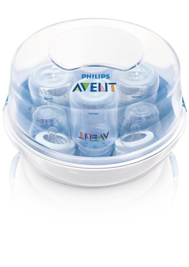 Sterilizator pentru cuptorul cu microunde 0% BPA Philips Avent SCF281/02 - NOU! Sigilat! - Pret | Preturi Sterilizator pentru cuptorul cu microunde 0% BPA Philips Avent SCF281/02 - NOU! Sigilat!