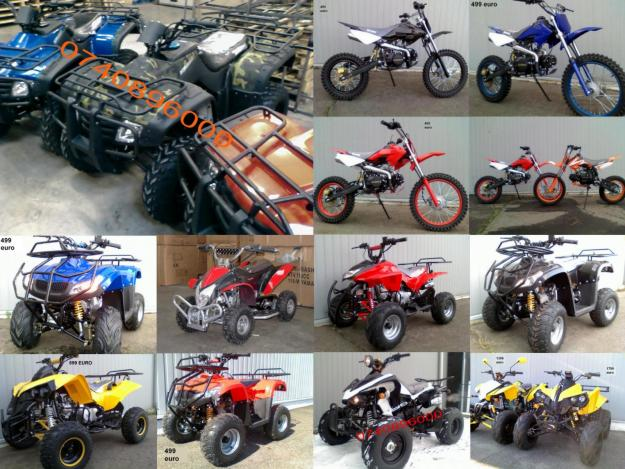 ATV QUAD MOTO CROSS de la 249 euro - Pret | Preturi ATV QUAD MOTO CROSS de la 249 euro