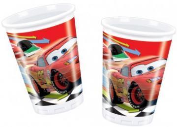 Cars II - Pahare Plastic, 200 ml (10 buc.) - Pret | Preturi Cars II - Pahare Plastic, 200 ml (10 buc.)