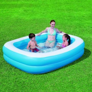 Bestway piscina gonflabila family blue 1353323 pret for Ofertas piscinas bestway