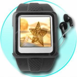 Gadget Ceas-Player MP4, 2 GB, afisaj 3.8 cm OLED - Pret | Preturi Gadget Ceas-Player MP4, 2 GB, afisaj 3.8 cm OLED