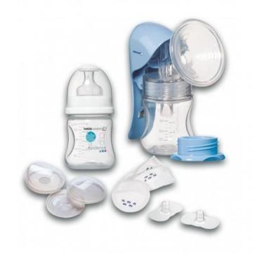 Bebe Confort - Pompa de San Manuala cu Set de Alaptare - Pret | Preturi Bebe Confort - Pompa de San Manuala cu Set de Alaptare