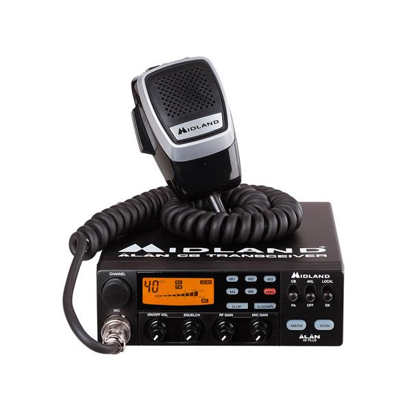 Statie radio ALAN 48 Plus Multi CB - Pret | Preturi Statie radio ALAN 48 Plus Multi CB
