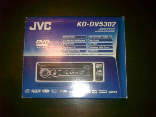 DVD auto JVC KD-DV5302 - Pret | Preturi DVD auto JVC KD-DV5302