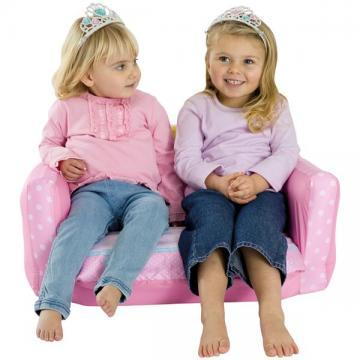 "Canapea gonflabila extensibila ""Disney Princess"" - Pret   Preturi Canapea gonflabila extensibila ""Disney Princess"""