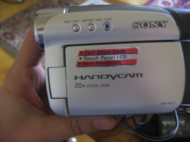 Camera video Sony DCR- HC23E - Pret | Preturi Camera video Sony DCR- HC23E