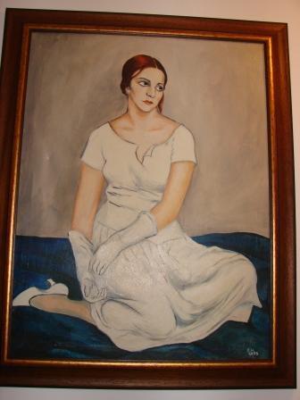 Vand tablou Fata de Nicolae Cracan - Pret   Preturi Vand tablou Fata de Nicolae Cracan