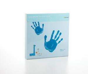 Pearhead - Baby & Me amprenta bleu - Pret | Preturi Pearhead - Baby & Me amprenta bleu