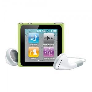 Apple iPod Nano 6th Generation 8GB Green (mc690qb/a) - Pret | Preturi Apple iPod Nano 6th Generation 8GB Green (mc690qb/a)