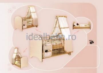 Bretco Design - Patut MARGOT 140 x 70 natur - Pret | Preturi Bretco Design - Patut MARGOT 140 x 70 natur