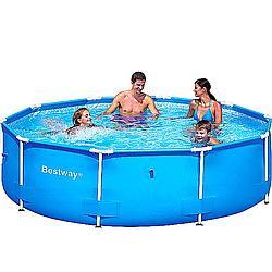 Piscina steel pro pret oferta for Ofertas piscinas bestway