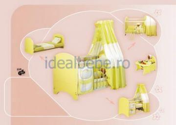 Bretco Design - Patut MARGOT 140 x 70 galben - Pret | Preturi Bretco Design - Patut MARGOT 140 x 70 galben
