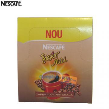 Cafea instant Nescafe Brasero Mild 36plicuri X 1 8g - Pret | Preturi Cafea instant Nescafe Brasero Mild 36plicuri X 1 8g