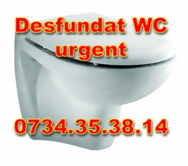 Desfundat wc - Pret | Preturi Desfundat wc