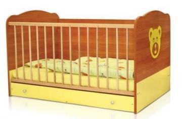 Bertoni - Pat lemn TEDDY + cearceaf de pat cadou - Pret | Preturi Bertoni - Pat lemn TEDDY + cearceaf de pat cadou