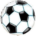 Balon folie metalizata SOCCER MINGE FOTBAL 45cm - Pret | Preturi Balon folie metalizata SOCCER MINGE FOTBAL 45cm