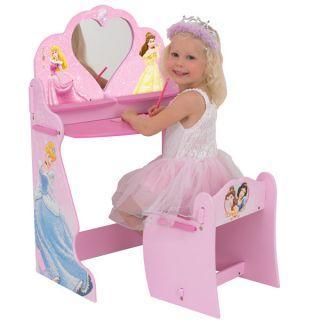 Masuta Disney Princess cu oglinda si scaunel - Pret   Preturi Masuta Disney Princess cu oglinda si scaunel