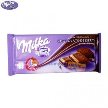 Ciocolata cu lapte Milka Chocolate Dessert 100 gr - Pret | Preturi Ciocolata cu lapte Milka Chocolate Dessert 100 gr